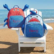 2 sea animal backpack